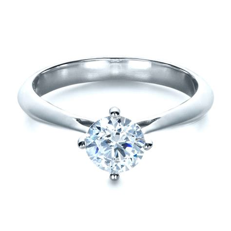 classic solitaire engagement ring 1398 bellevue seattle