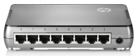 Switch Hub 8 Port Hp hp jd867a 8 unmanaged switch 8 ethernet ports