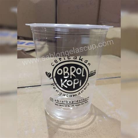 Gelas Cup sablon gelas plastik sablon gelas cup sablon gelas plastik