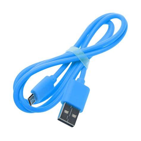 Kabel Data Vivan Lazada jual vivan micro usb kabel data biru harga kualitas terjamin blibli