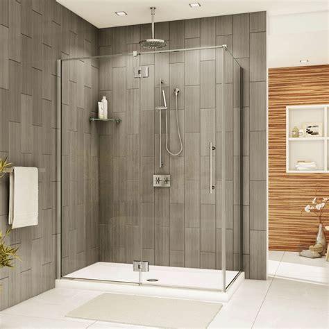 fleurco shower doors fleurco shower door platinum in line panel door with