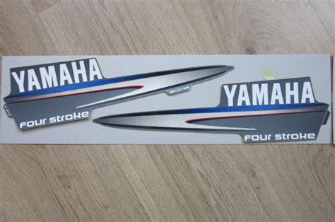 Yamaha Aufkleber Satz by Aufkleber Satz F6a F8cyamaha Klijzing Aussenbord