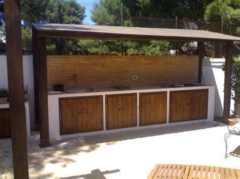 cucina esterna in muratura sportelli x cucina in muratura esterna cinisi