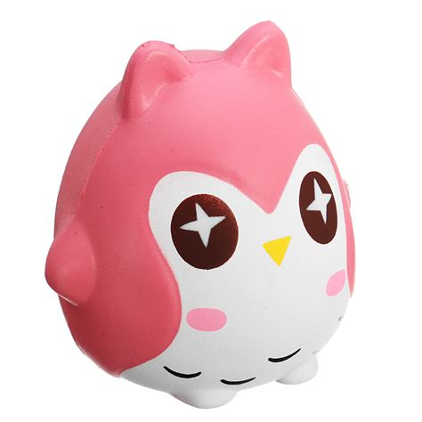 Squishy Owl 1 squishy owl 10cm soft sweet bird animals rising collection gift decor alex nld
