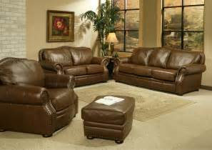 leather livingroom sets valencia collection leather living room set sofas samuel