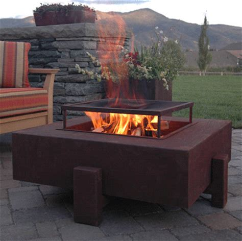 pit contemporary square patio pit contemporary patio other by