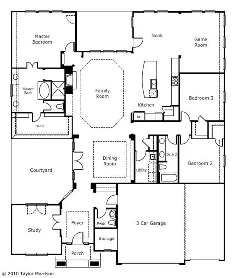 crystal house floor plans the ellington model by taylor morrison crystal falls the