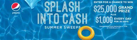 Cash Sweepstakes 2016 - culvers com splash splash into cash summer sweepstakes 2016 winzily