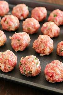 best ever easy baked meatballs yummy healthy easy