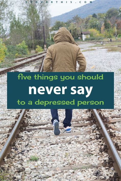 Things You Should Only Do In Person by 5 Things You Should Never Say To A Depressed Person
