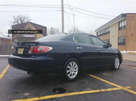 2004 lexus es330 interior 2004 lexus es330 fwd newer tires interior and exterior