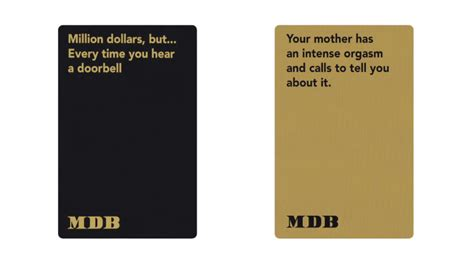 Million Dollar Gift Card - million dollars but is an hilarious new card game from rooster teeth craveonline