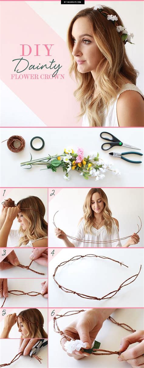 How To Make A Flower Crown Out Of Paper - fashion diys to keep you chic and busy this summer