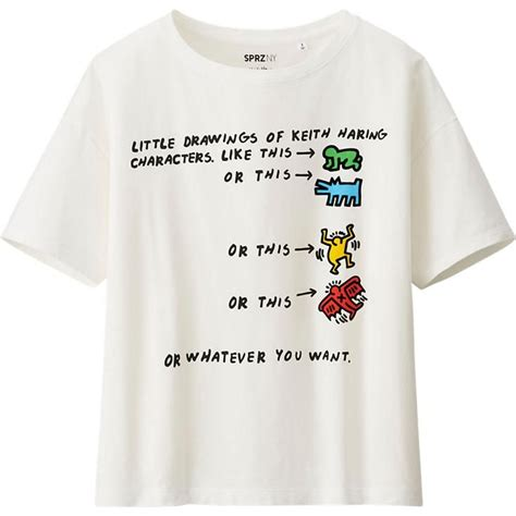 Tshirt Keith Haring best 25 keith haring t shirt ideas on keith