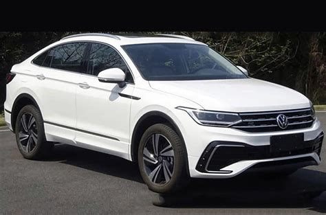 volkswagen tiguan  suv coupe leaked   debut