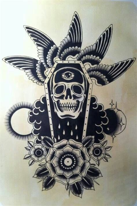apache indian tattoo designs 35 unique new school coffin tattoos