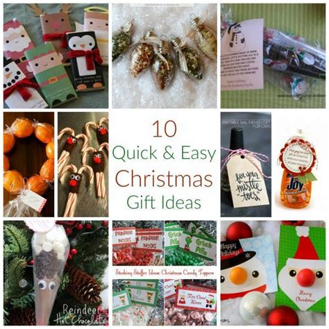 10 easy christmas gifts to make 10 easy gift ideas craft gossip