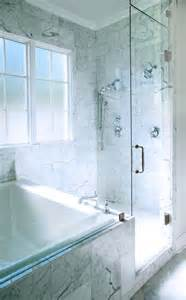 Spa Bath Shower Combination Transparent Combination Spa And Shower Traditional