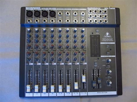 Mixer Behringer Mx mixer behringer mx 1602 catawiki