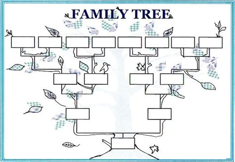 family tree template pdf all worksheets 187 family tree worksheets printable