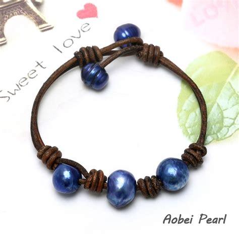 Handmade Pearl Bracelet - aobei pearl handmade bracelet made of freshwater pearl and