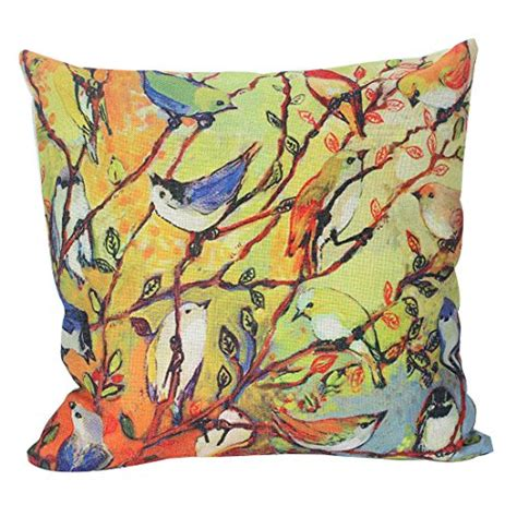 18 Inch Decorative Pillow Covers by Jinbeile 18 X 18 Inch Cotton Linen Throw Pillow Cover