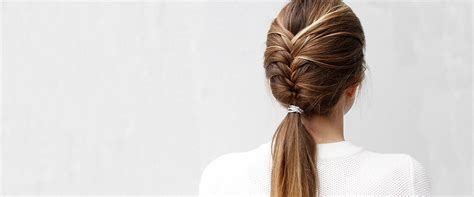 fishtail french braid photos on blacks try this pretty sophisticated french fishtail braid