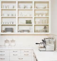 Shelves For Kitchen Cabinets by Kitchens With Open Shelves Simplified Bee