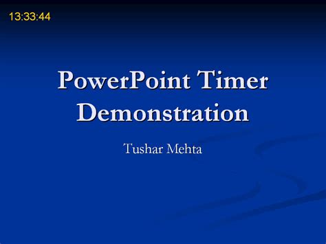 Powerpoint Timer Add In Powerpoint Timer Free