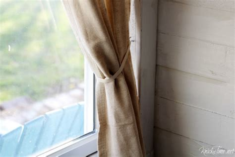 cloth curtain tie backs drop cloth curtains for my entryway no sew version