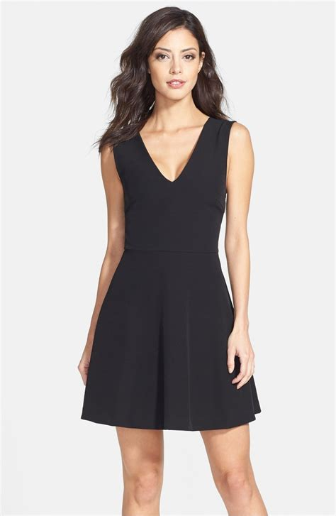 black dresses for trendy fit and flare dresses for summer 2017
