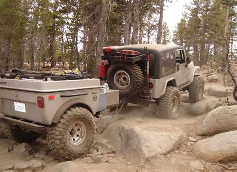 jeep offroad trailer 570 best images about bug out trailers on pinterest