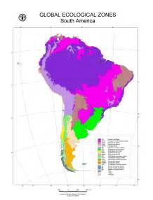 south america resource map america map