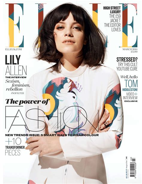 Allen In Magazine by Allen On The Cover Of Magazine Uk March 2014