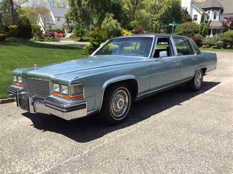 1987 Cadillac Brougham For Sale by 1985 To 1987 Cadillac Fleetwood Brougham For Sale On