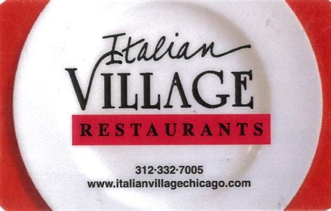Chicago Restaurant Gift Cards Online - buy gift cards italian village restaurants in chicago