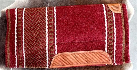 Wool Saddle Blankets For Horses by Wool Western Show Trail Saddle Pad Rodeo Blanket