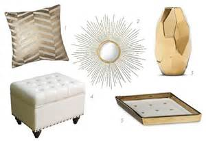 white home decor accessories update your apartment with glam white gold accessories