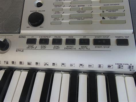 Keyboard Yamaha E403 yamaha electronic portable keyboard psr e403 5 octaves works ebay