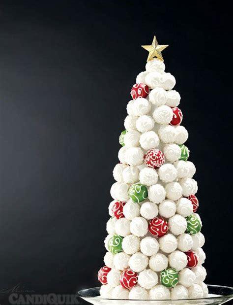 cake pop christmas tree recetas pinterest