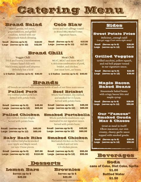 Menu Ideas For - best 25 catering menu ideas on catering ideas