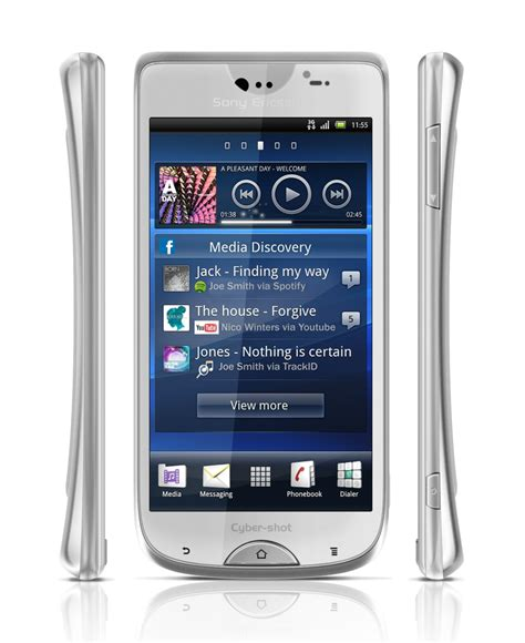 sony android update it s a concept sony ericsson android powered cyber phone s supposed press images