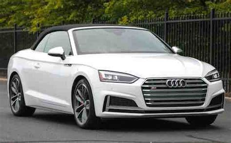 2019 Audi S5 Cabriolet by 2019 Audi S5 Convertible Audi Car Usa