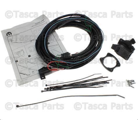 trailer tow wiring harness genuine mopar 82207253ab