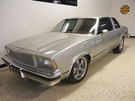 Silver 1978 Chevrolet Malibu Classic For Sale   MCG