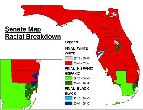 florida map population florida s new state senate map 171 mattsmaps