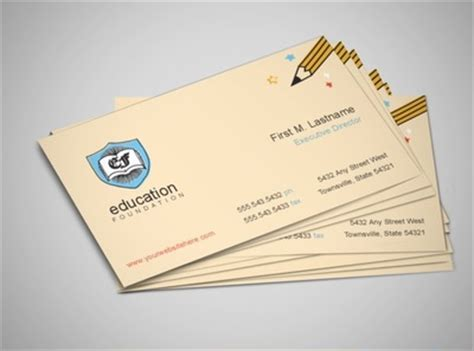 nonprofit business card templates non profit business ideas opportunities