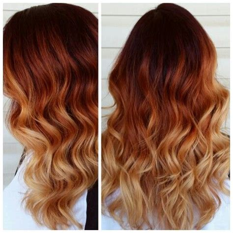 auburn with ombre highlights top 35 warm and luxurious auburn hair color styles
