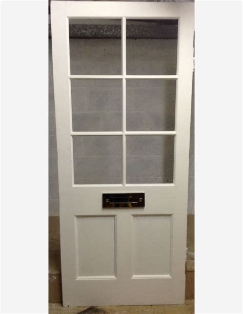 Half Glazed Exterior Doors 6 Lite Half Glazed Front Door By Historic Doors