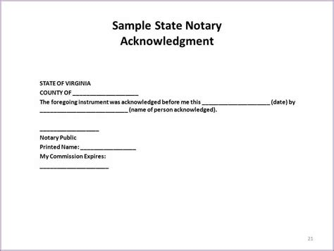 Notary Block Template Notary Signature Template Beneficialholdings Info